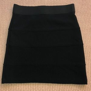 Black Mini Skirt